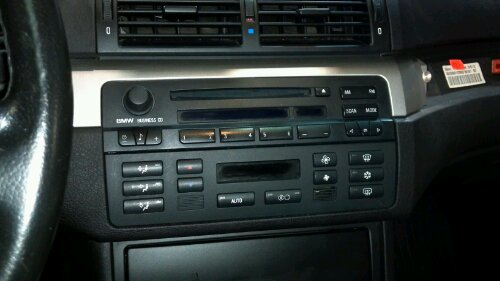 Installation Poste Double Din Bmw E46