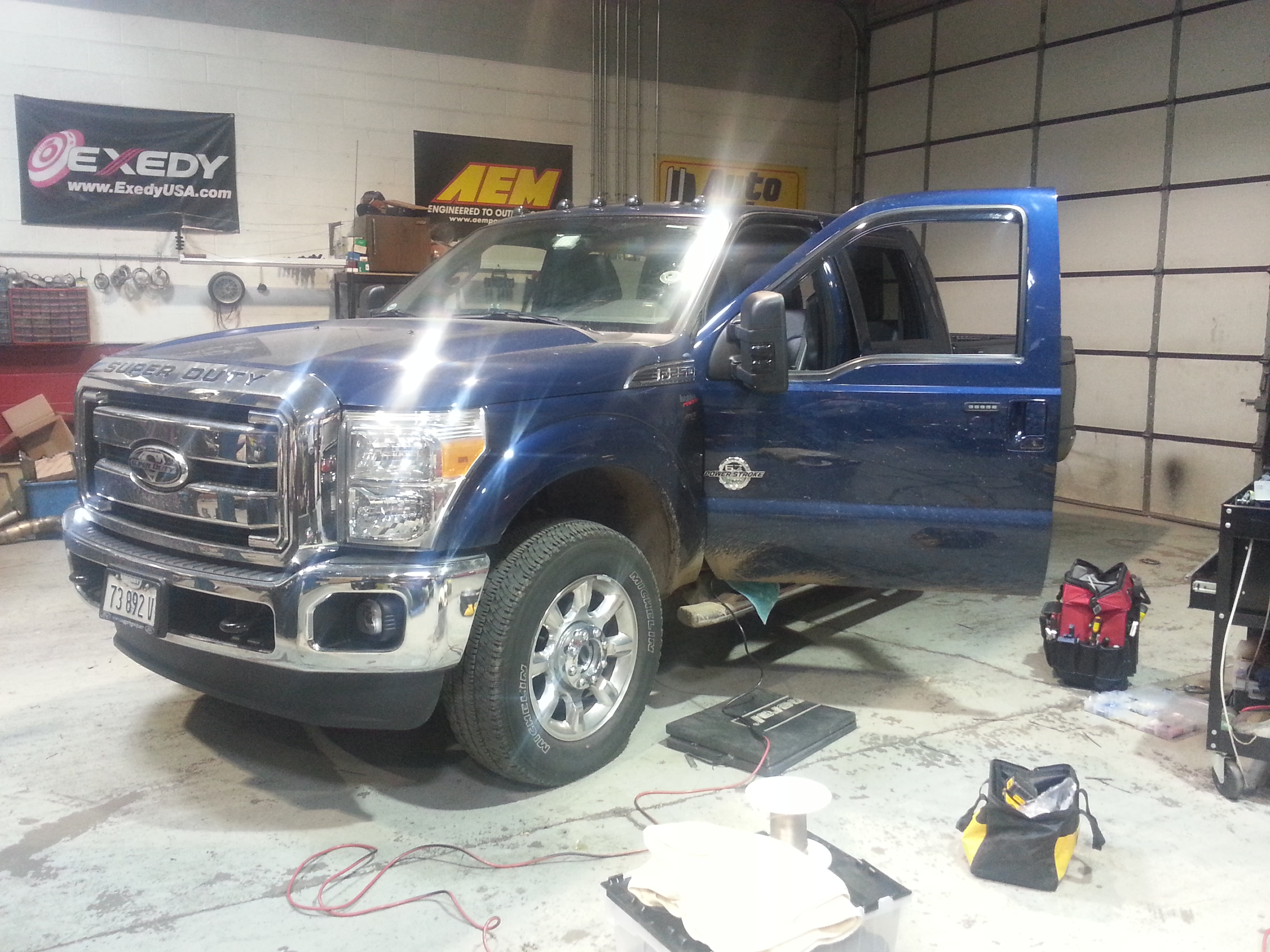Ford F250 super duty stereo upgrade using factory ...