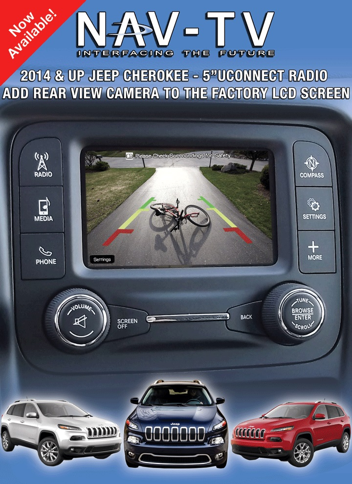 2014 Jeep Grand Cherokee Adding Backup Camera Mobile